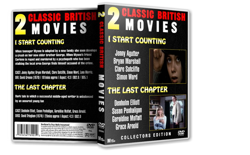 I START COUNTING - Jenny Agutter Bryan Marshall [1970] DVD