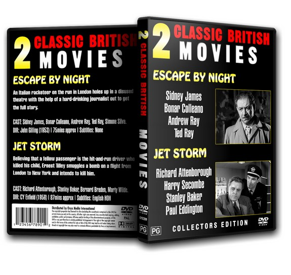 Escape by Night - Sid James (2xMovies) 1953