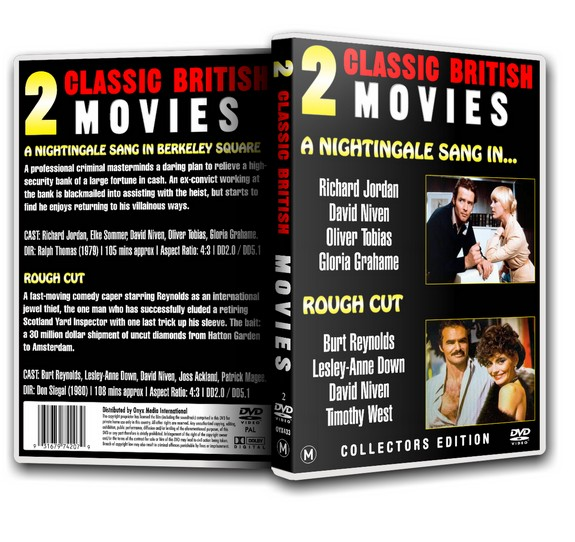 ROUGH CUT - Burt Reynolds David Niven [1980] DVD