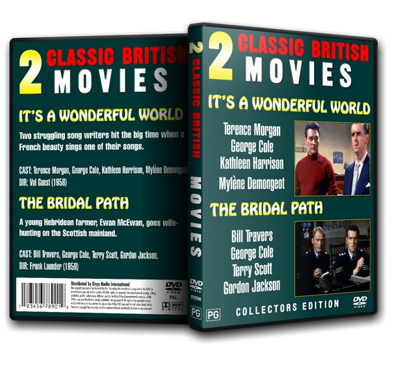 It's A Wonderful World - Terence Morgan, George Cole (2xMovies)