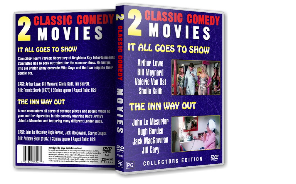 IT ALL GOES TO SHOW - Arthur Lowe, Bill Maynard (1970) DVD