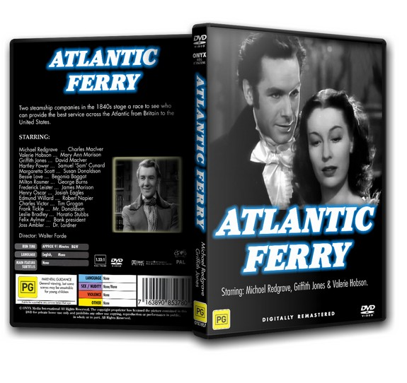 Atlantic Ferry - M. Redgrave, V. Hobson (1941)