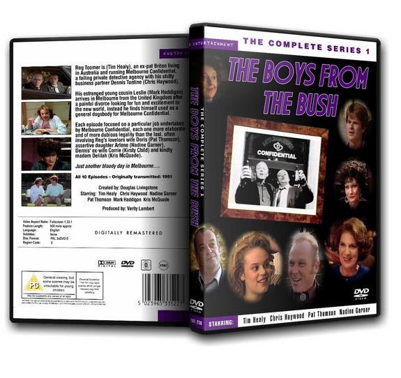 The Boys From The Bush - Tim Healy The Complete Series 1 [1991]