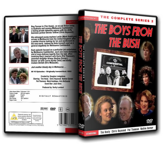 The Boys From The Bush - Tim Healy The Complete Series 2 [1992]