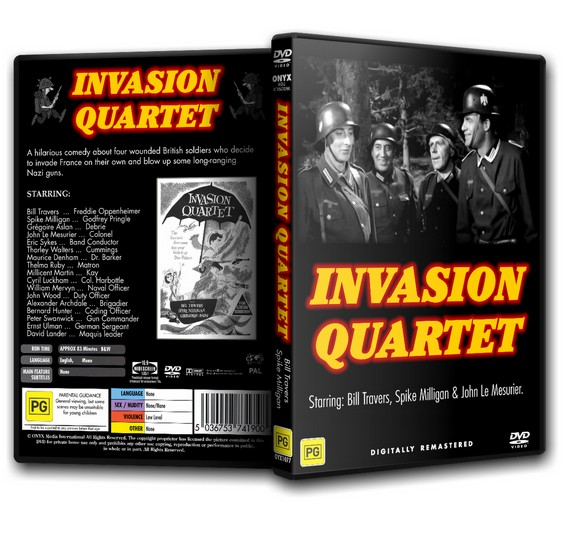 Invasion Quartet - Bill Travers, Spike Milligan (1961)