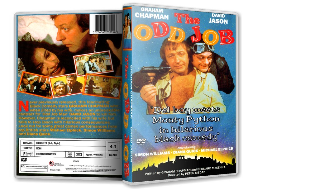 THE ODD JOB - David Jason Graham Chapman [1978] DVD