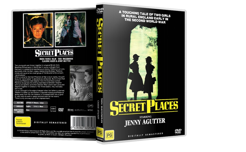 SECRET PLACES - Jenny Agutter, Tara MacGowran [1984] DVD