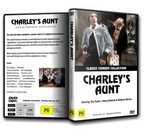 CHARLEY'S AUNT - Eric Sykes, Jimmy Edwards (1977) DVD