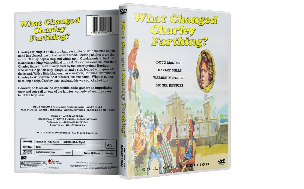 What Changed Charley Farthing? - W. Mitchell, Hayley Mills (DVD)