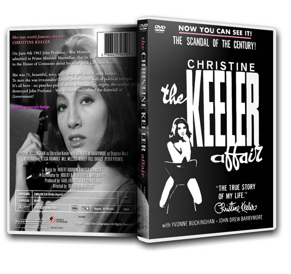 THE KEELER AFFAIR - Yvonne Buckingham, Christine Keeler [1963] DVD