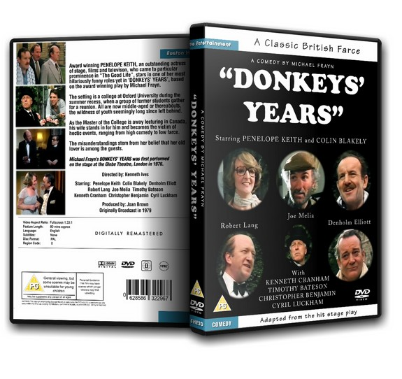 DONKEYS' YEARS - Penelope Keith Denholm Elliott [1979]