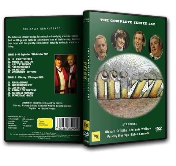 Ffizz - The Complete Series - Richard Griffiths (1987/89)