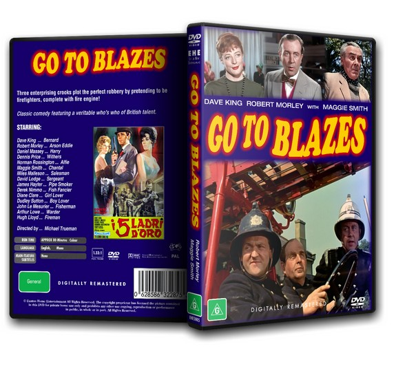 GO TO BLAZES - Robert Morley, Maggie Smith [1962]