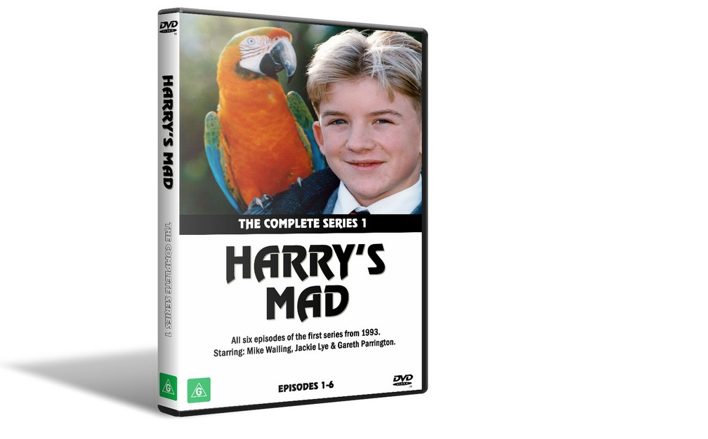 HARRY'S MAD - Complete Series 1 (1993) DVD