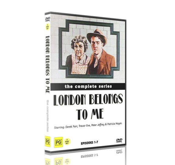 LONDON BELONGS TO ME - Patricia Hayes, Peter Jeffrey (1977) 3DVD
