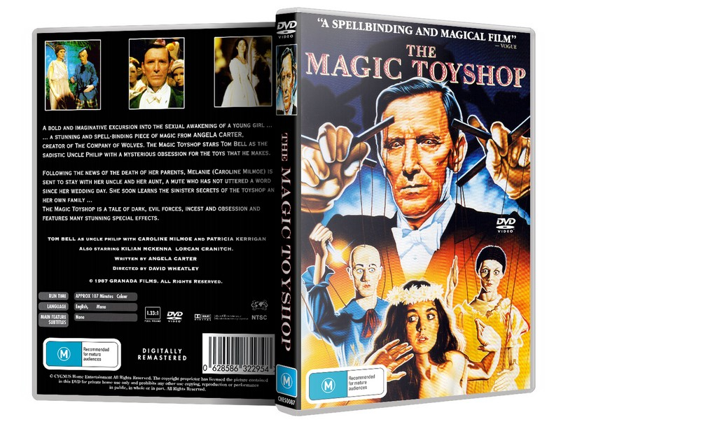 THE MAGIC TOYSHOP - Caroline Milmoe Tom Bell [1987] DVD