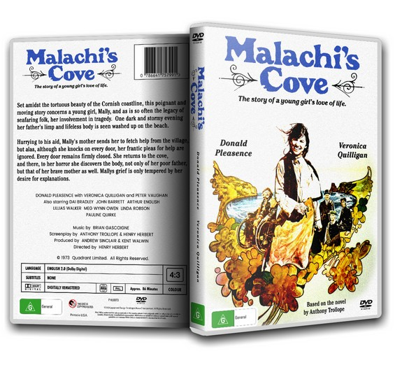 MALACHI'S COVE - Veronica Quilligan, Arthur English, Peter Vaughan [1973] DVD