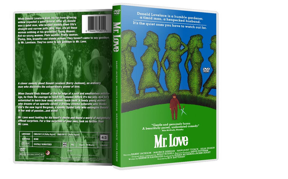 MR. LOVE - Barry Jackson, Maurice Denham [1985] DVD