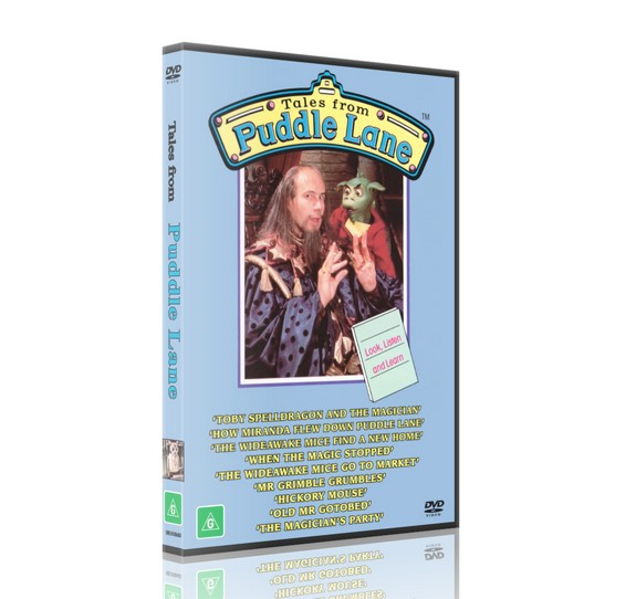 Tales from PUDDLE LANE - Neil Innes [DVD] 1986-88