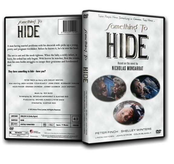SOMETHING TO HIDE - Peter Finch Linda Hayden [1972] DVD