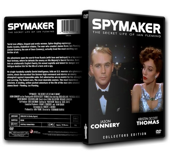 SPYMAKER - The Secret Life of Ian Fleming - Jason Connery (1990)