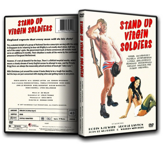 STAND UP VIRGIN SOLDIERS - Robin Askwith, George Layton (1977)