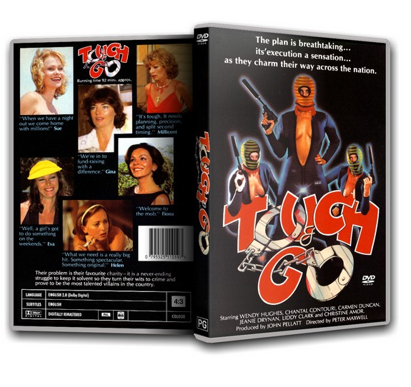 TOUCH AND GO - Chantal Contouri, Jon English, John Bluthal [1980] DVD