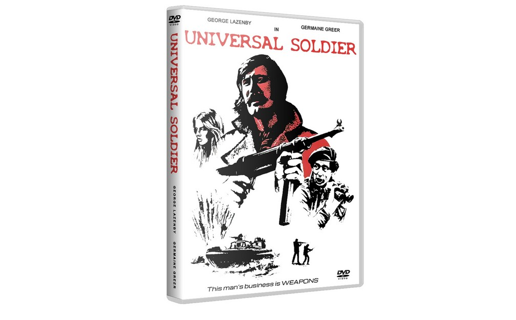 UNIVERSAL SOLDIER - George Lazenby Germaine Greer [1971] DVD