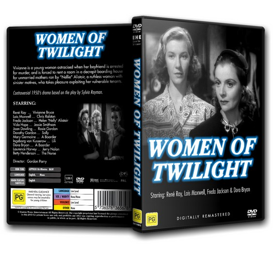 WOMEN OF TWILIGHT - Lois Maxwell, Rene Ray (1953)