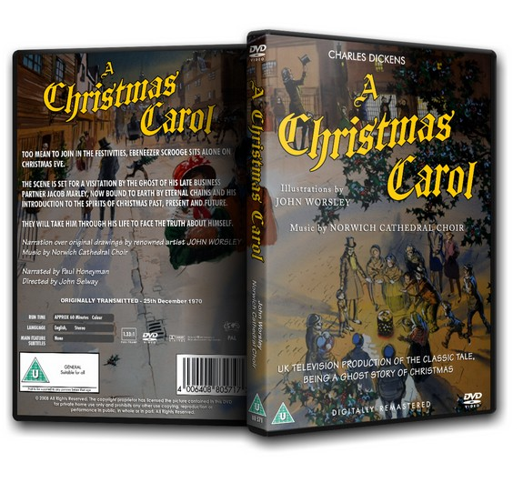 A CHRISTMAS CAROL - John Worsley (1970)